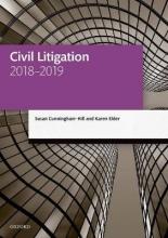 Cunningham-hill, Susan,   Elder, Karen Civil Litigation 2018-2019