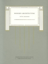 Wagner, . Mdern Architecture - A Guide for this Students to This Field of Art