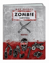 Brooks, Max Zombie Survival Notes Mini Journal