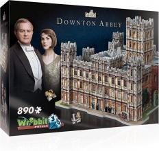 W3d-2019 , Puzzel 3d - dowton abbey-  wrebbit 890 stuks