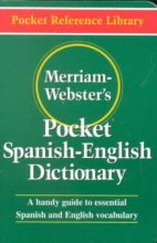 Merriam-Webster Merriam-Webster`s Pocket Spanish-English Dictionary