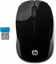 , Muis HP X200 draadloos zwart