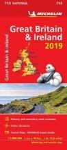 Great Britain & Ireland 2019 - Michelin National Map 713