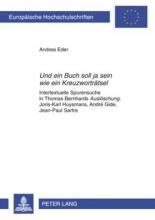 Eder, Andrea Und ein Buch soll ja sein wie ein Kreuzworträtsel