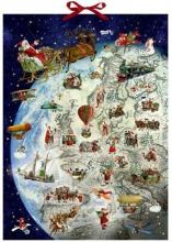, Adventskalender kerstmanrooster