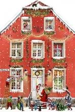 , Aufstellkalender - Weihnachten bei uns Zuhaus