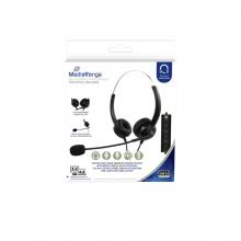 , Headset MediaRange HP-115 H300D stereo zwart