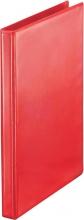 , Presentatieringband Esselte Deluxe A4 4-rings D-mech 30mm rood