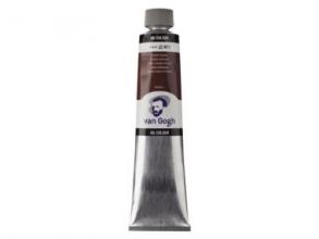 , Talens van gogh olieverf tube 200 ml sienna gebrand 411
