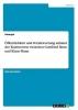 , Öffentlichkeit und Verantwortung anhand der Kontroverse zwischen Gottfried Benn und Klaus Mann