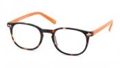 <b>G55925</b>,Leesbril junior g55900 bruin/oranje 2.50