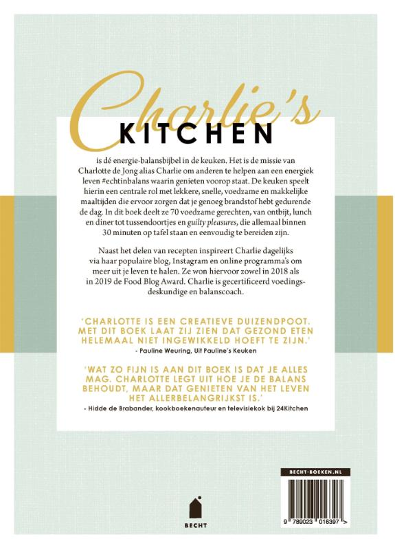 Charlotte de Jong,Charlie`s Kitchen