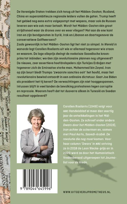 Carolien Roelants,Wereld in wanorde