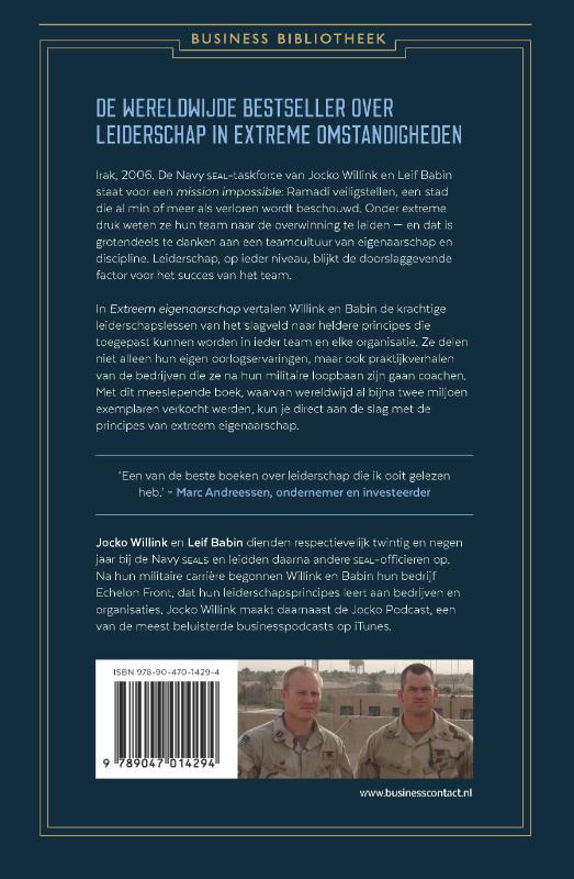 Jocko Willink, Leif Babin,Extreem eigenaarschap