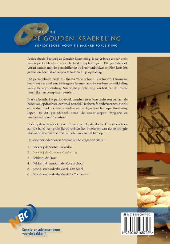 Nederlands Bakkerij Centrum,Backerij de Gouden kraekeling