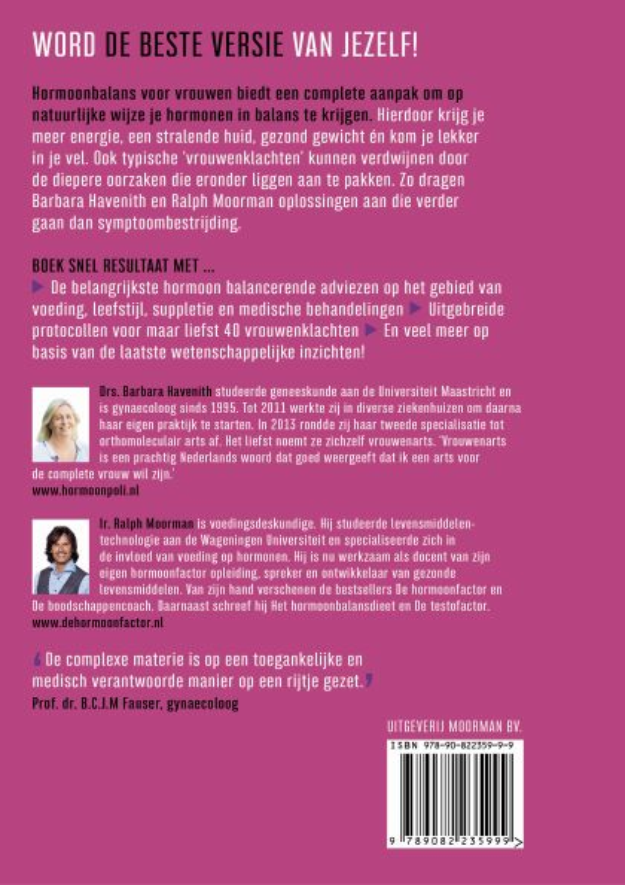 Ralph Moorman, Barbara Havenith,Hormoonbalans voor vrouwen