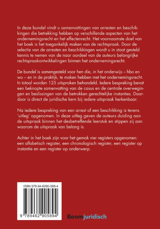 E.C.H.J. Lokin, J. van Gent, P.A.M. Lokin,Kernarresten Ondernemingsrecht