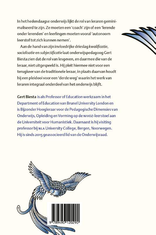 Gert Biesta,De terugkeer van het lesgeven
