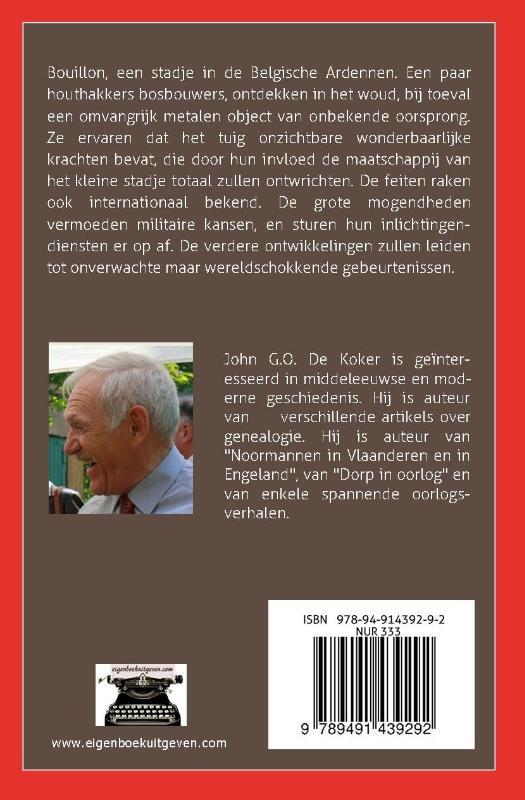 John G.O. de Koker,UFO in bouillon