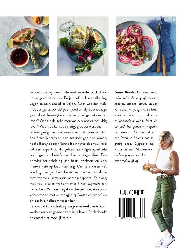 Sanne Bernhart,Food fit focus