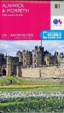 Ordnance Survey Alnwick & Morpeth, Rothbury & Amble
