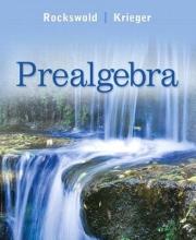 Gary K. Rockswold,   Terry A. Krieger Prealgebra
