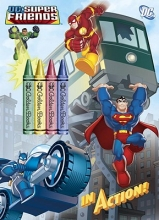 Golden Books In Action! (DC Super Friends)