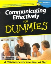 Marty Brounstein Communicating Effectively For Dummies