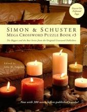 Simon & Schuster Mega Crossword Puzzle Book 3