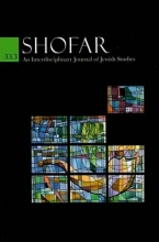 Shofar, Vol 33 #3