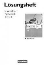 Berkemeier, Helga,   Koullen, Reinhold Schlüssel zur Mathematik 6. Schuljahr. Lösungen zum Schülerbuch. Differenzierende Ausgabe Niedersachsen