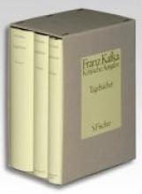 Kafka, Franz Tagebücher. Kritische Ausgabe. Textband Apparatband Kommentarband
