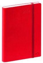 Geschftbus Taschen-Terminkalender Prestige 2017 Habana smooth rot