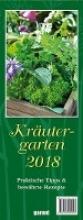 Kräutergarten 2018 - Monatskalender