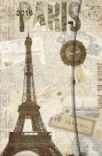 2016 Paris 10 x 15 Magneto Diary