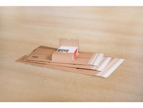 , wikkelverpakking Raadhuis A4+ 335x275x80mm bruin 10 stuks