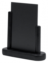 , Krijtbord Securit 17x16x5cm zwart hout