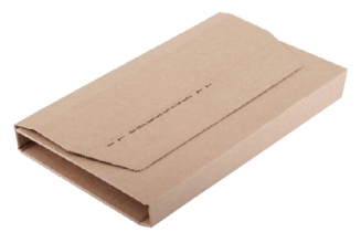 , Wikkelverpakking CleverPack A4 +zelfkl strip bruin 10stuks