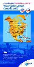 ANWB , ANWB Wegenkaart Verenigde Staten/Canada 2. Verenigde Staten/Canada zuid