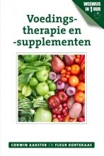 Fleur Kortekaas Corwin Aakster, Voedingstherapie en -supplementen