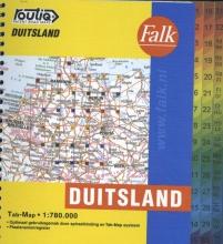 , Falk autokaart Duitsland routiq