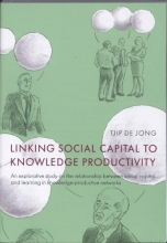 Jong, Tjip de Linking social capital to knowledge productivity