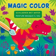 , Dino Magic Color schilderen met water Dino Peinture magique à l`eau