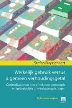 Stefan Ruysschaert , Werkelijk gebruik versus algemeen verhoudingsgetal