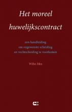 Wibo Mes , Het moreel huwelijkscontract