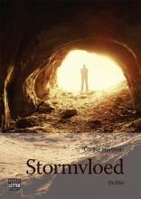 Corine  Hartman Stormvloed - grote letter uitgave