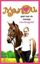 Lisa  Burggraaf Manou op de manege