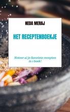 Neda Meraj , Het Receptenboekje