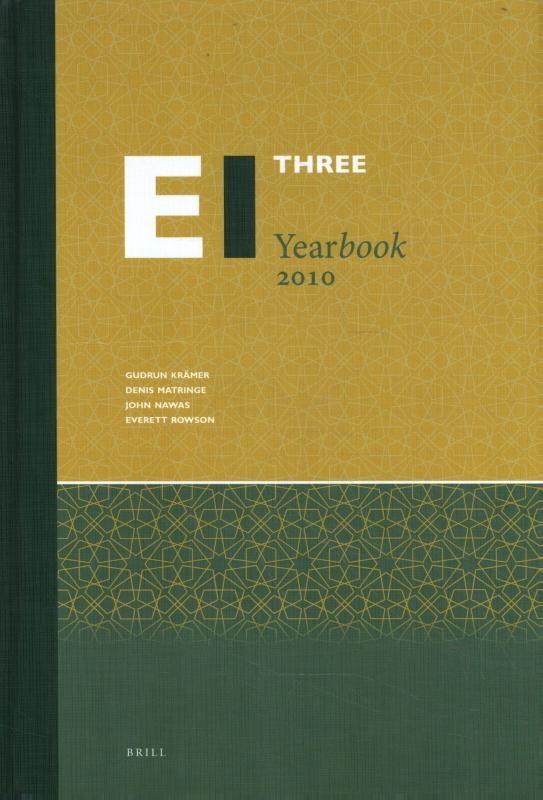 ,Encyclopaedia of Islam Three