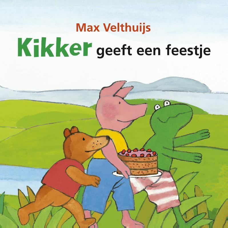 Max Velthuijs,Kikker geeft een feestje